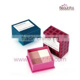 Lovely cake blusher! Paper box blush for cheek, cosmetics mixed color blushes from Guangdong