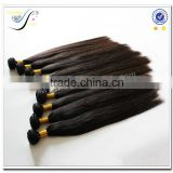 Top Quality Fast Delivery Wholesale Brazilian Bundle Hair Natural Black Color 100% Virgin Human Hair Weave