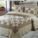 European style 2016 high quality printed 3d bed cover set 100% cotton