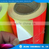 Brand new Fluorescent vinyl clear sticker sticker roll with high quality