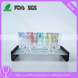 Glassware wholesale machine printing shot glass chess set