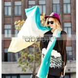QD80444 Lady European Design 100% wool with Environment Activity Printed Long Soft Scarves