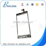 Hot selling black digitizer for lg p765 , oem touch screen for optimus L9 touch screen replacement
