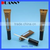16Mm Gold Transparent Plastic Custom Lip Balm Tube,Lip Gloss Packaging 15Ml Plastic Tube