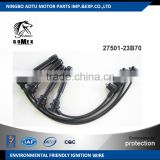 High voltage silicone Ignition wire set, ignition cable kit, spark plug wire 27501-23B70 for Hyundai