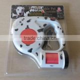 Dogs Application Automatic Retractable Dog Leash with waste bag dispenser and Flashlight
