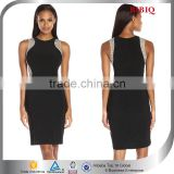 2016 Latest Dress Designs Woman Sexy Bead Bodycon Midi Dress For Party                                                                         Quality Choice