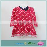 Stylish quality baby dress new style top for girls top dress