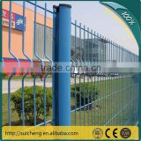 Round Steel Pipe PVC Coated Fence/Galvanized Fencing with Low Price/Generators Prices PVC Fence(Factory)