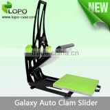 Star Product Galaxy Auto Clam Slider Sublimation printing Machine with slide out auto open