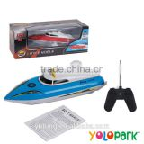 Electric Plastic Radio Controlled Racing Toys Boat, 4W R/C Racing Boat Toys, Children R/C toys 4 Channals Mini R/C Boat