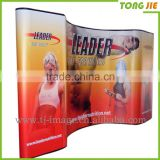 Foldable Pop up Banner Stand ,Adjustable Fabric Display