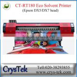 CRYSTEK Refretonic RT180 inkjet printing machine for flex banner vinyl bus cover printing
