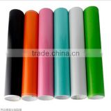 New removable pvc self-adheisve car decoration glossy color changed vinyl film