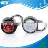 45mm Stainless steel lock for Student's Locker lock with 3 dial combo lock with key for cabinet or chest