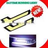 Flexible Daytime running light Xenon white Slim COB LED DRL