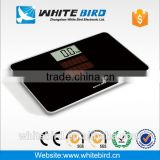 150kg/0.1kg electronic digital solar powered bathroom weighing scale