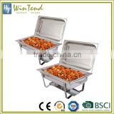 Chafing equipment stainless steel commercial hot food warmer buffet server