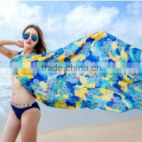 Fashion Scarf 2015 hot selling sexy blue bikini wrap dress