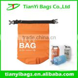 High strength fashion waterproof dry bag with belt buckle