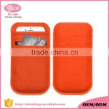 soft fashion felt mobile phone cover/case
