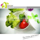 Factory Direct Selling Large Food Processor Manual Vegetable Salad Spinner and mixer