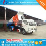Direct factory waste disposal and collection truck with tipper body for sale