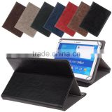 high quality factory price PU leather stand case for 7 8 9 10 inch tablet PC case stock