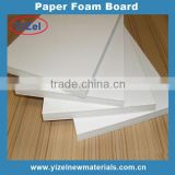 high quality Chinese factory 3mm white paper Foam Board For Photo Album