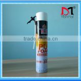 Cheap polyurethane foam sealant , wholesale 750ml expanding spray pu foam
