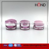 high fashion Benyo 15g cosmetic acrylic cream jar,Skin Care Cream Use and acrylic Body Material cosmetic jars