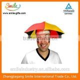 New Product Logo Printed Wholesale Umbrella Hat