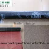 RED/GREE/GREY MINERAL asphalt waterproofing membranes