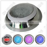 IP68 Stainless Steel Surface Mounted LED Swimming Pool Light/ Wall mounted LED pool light