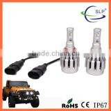 Auto led headlight 12v 40W 2800LM 6000K 12v 24v 9006 led bulb