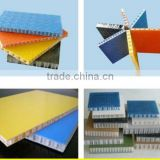 FRP honeycomb panel for car body