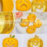 47*48mm Golden Colored Drawing Halloween Pumpkins Brooches Pins