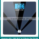 Electronic scale Bluetooth 4.0 chip cloud health body fat analyzer