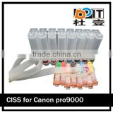 PRO9000 refillable ink cartridges for canon CLI-8 and high quality refill ink bottles