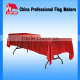SHC disposable massage table covers plastic round table covers restaurant table covers