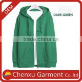 custom hoodies zip up bright green fleece hoodie import china products sublimation blanks women sweater green xxxxl hoodies