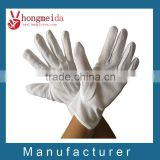 white cotton parade gloves masonic nylon military gloves