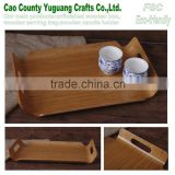 personalized wood tray,chinese ash custom wood tray,antique tea tray table