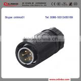 Made in china CNLINKO waterproof 5 pin female connector male 5 pin din connector 5 pin plug and socket