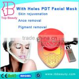 Led Light For Face HOT Sale PDT Type And Skin Tightening Pigment Removal Acne Treatment Skin Rejuvenation Wrinkle Remover Feature Led Face Improve fine lines