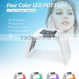 Led Light Therapy For Skin 4 Color PDT Machine Spot Removal Photo Dynamic Therapy Pdt Led Facial Light Therapy Machine