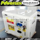 With Remote Starter!!! POWERGEN 50Hz/60Hz Silent Type Small Portable Diesel Generator 5KW with Cooling Fan
