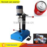 Neweek 12 months warranty home used small manual bottle aluminum foil sealing machine can seamer