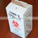 Dangerous medical waste burning box for disposable medical tools