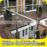 Customed Standard Design Aluminum Fancy Balcony Railings